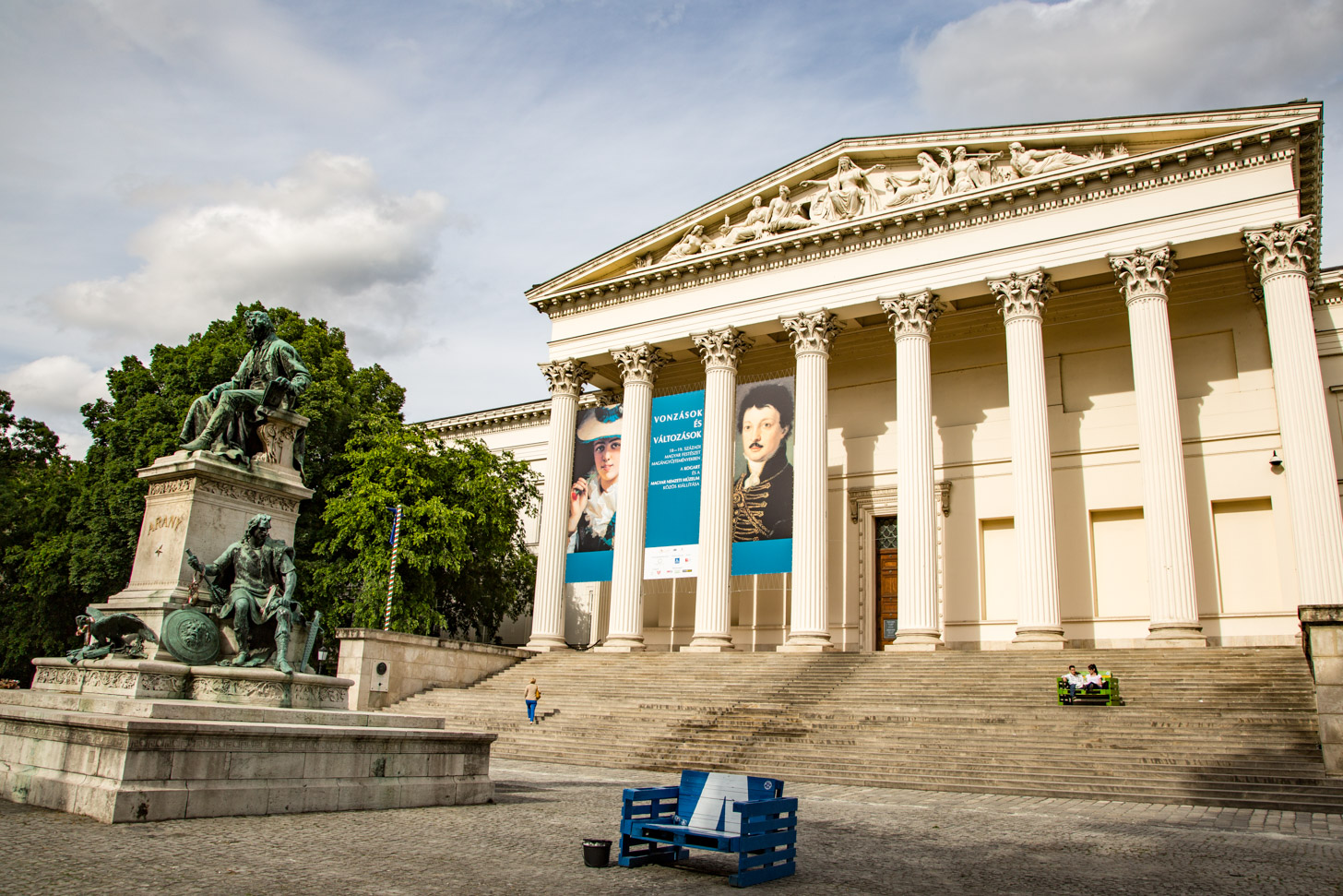Het Nationaal Museum on Boedapest