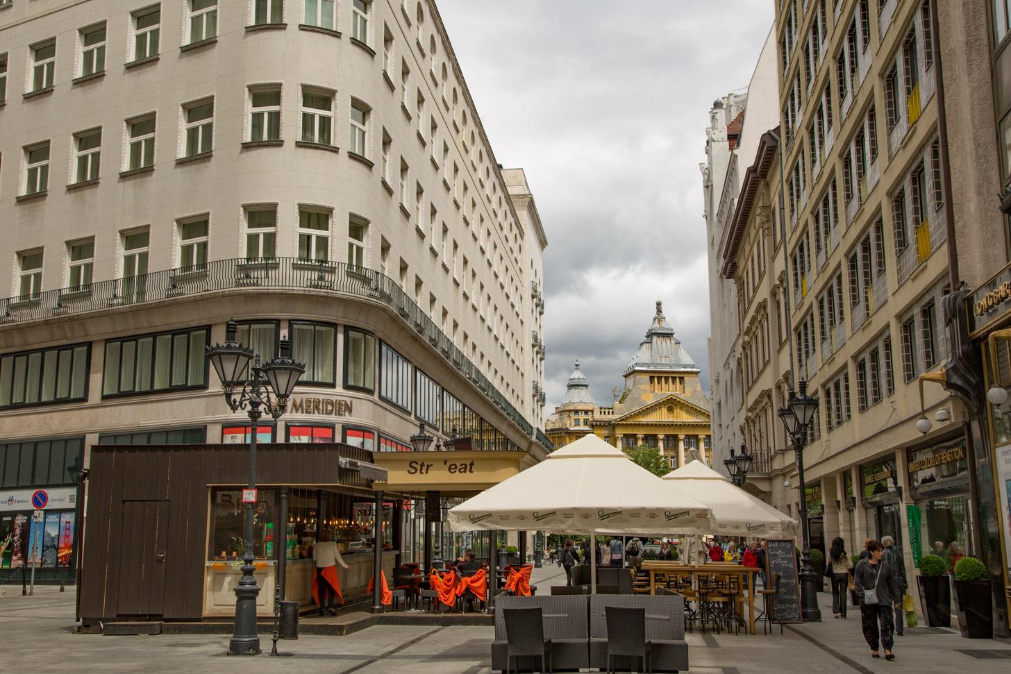 Het centrum van Boedapest